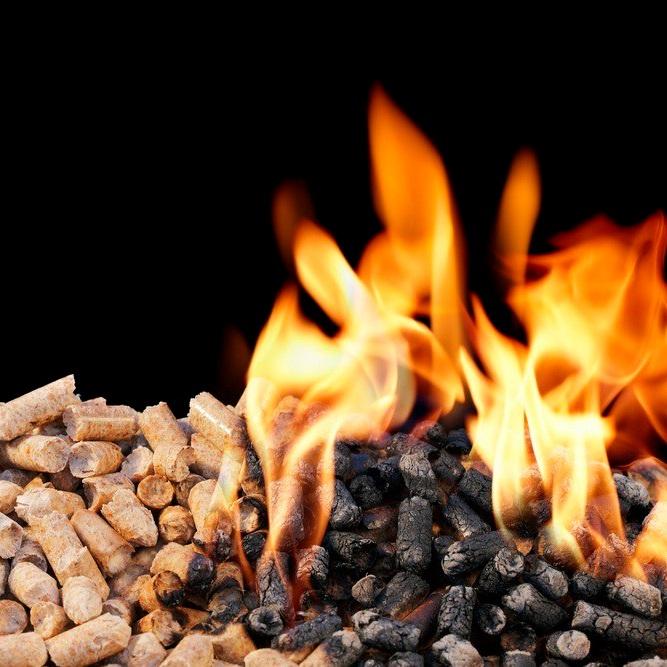 pellet calor natural